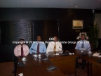 . Meeting with Mr Mohan Pandithage, Chairman of the Hayleys Group, Colombo Sri Lanka - 2009