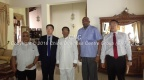 Our CEO and China star time group delegation meet with HE President Mithreepala Siresena at his residence in Polonnaruwa.  April 2016